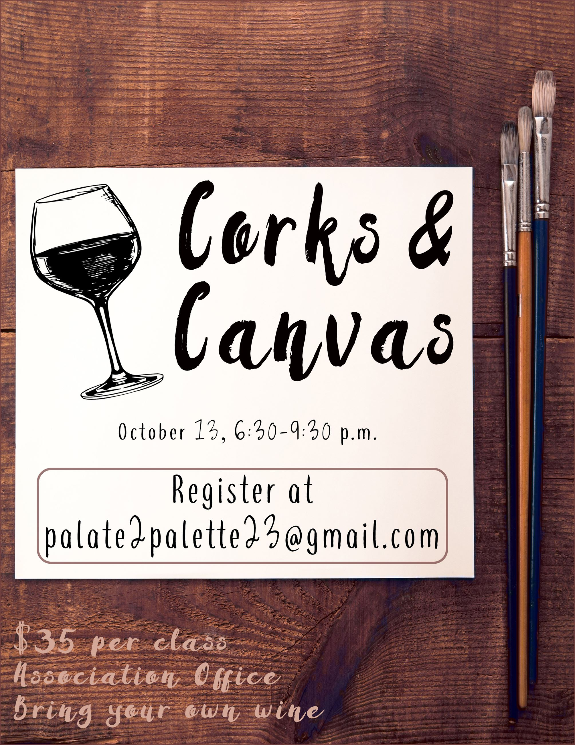 Corks and Canvas