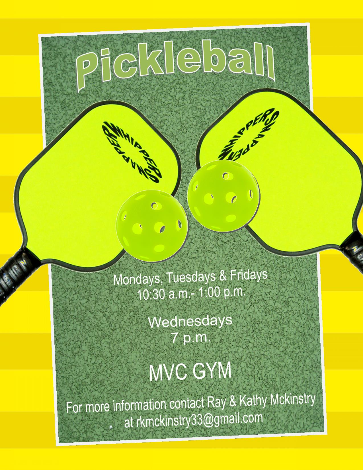 Pickleball Tuesdays