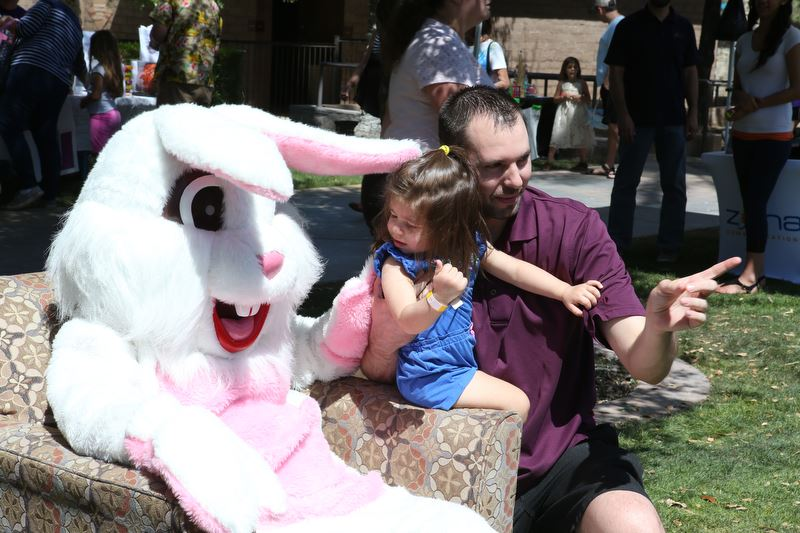 Photo with the Easter Bunny